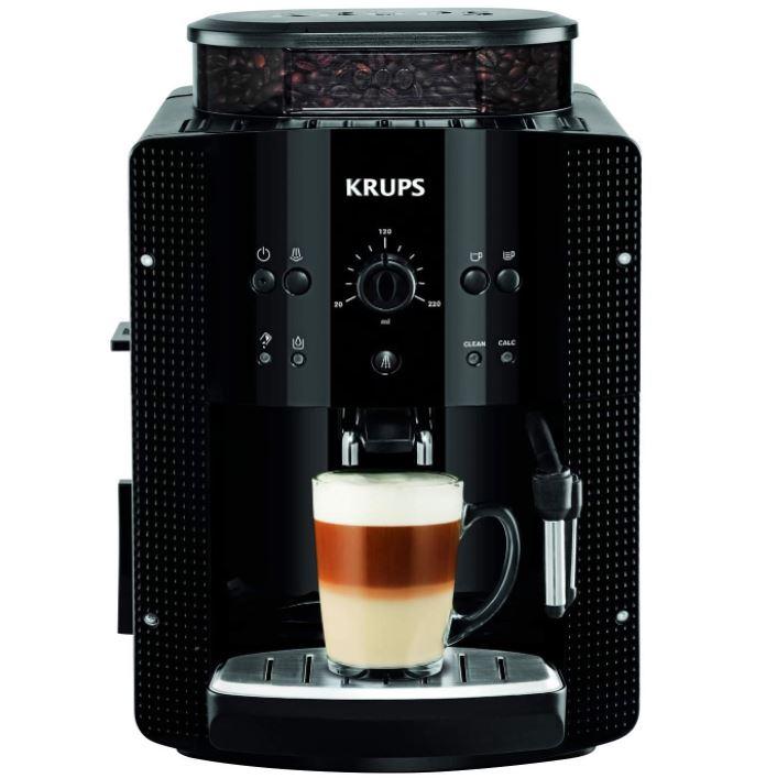 Bild zu KRUPS EA8108 Kaffeevollautomat mit CappucinoPlus-Milchdüse und Kegelmahlwerk ab 188,31€ (VG: 235,99€)