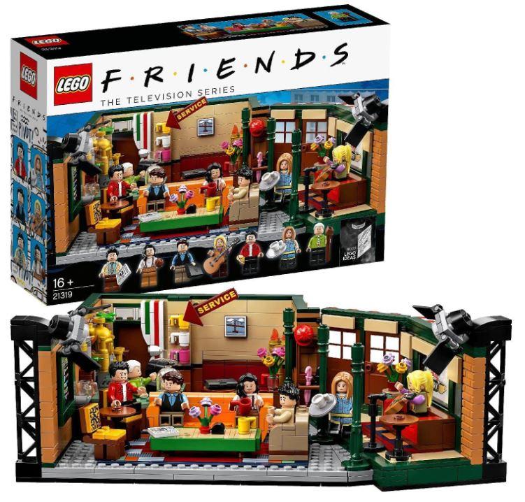 Bild zu Amazon.es: LEGO Ideas Set – Friends Central Perk (21319) für 46,60€ (VG: 59,07€)