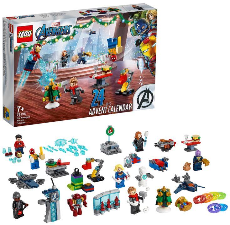 Bild zu LEGO Marvel Avengers: Adventskalender 2021 (76196) für 23,81€ (VG: 28,49€)