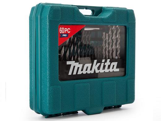 Bild zu 60-teiliges Makita Pro Bohrer- und Bit-Set im Tragekoffer (90358) für 23,90€ (Vergleich: 29,70€)