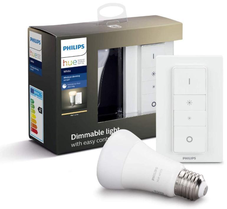 Bild zu Philips Hue Dimming Kit White E27, Bluetooth für 20,98€ (VG: 22,98€)