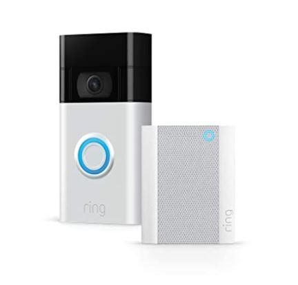 Bild zu [Tagesangebot] Amazon: Ring Video Türklingel 2. Generation für nur 79€ oder inkl. Ring Chime für nur 114€