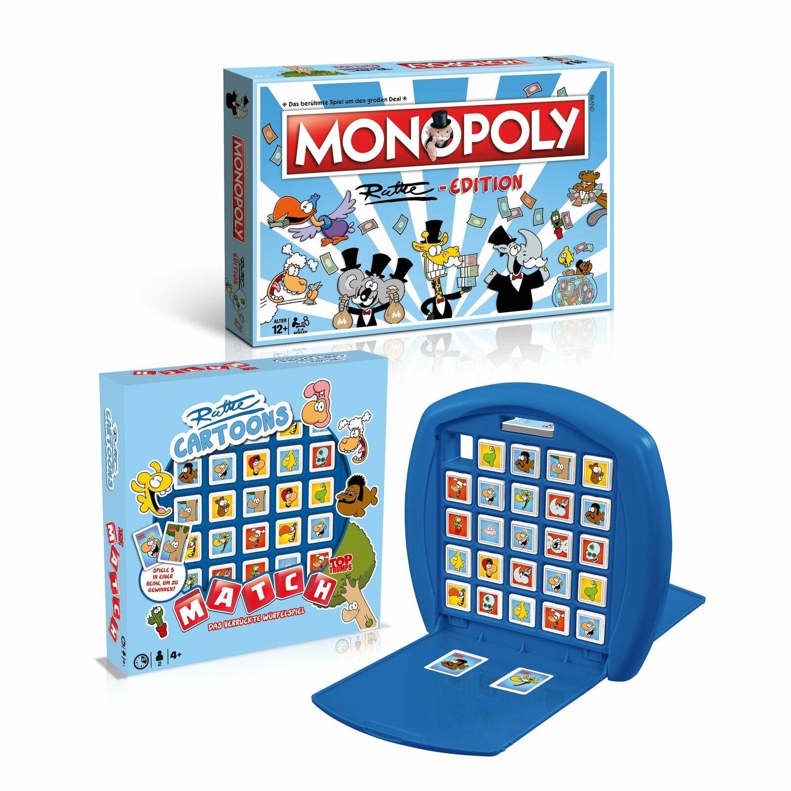 Bild zu Monopoly Ruthe und Match Ruthe im Bundle für 23,99€ (Vergleich: 44,95€)