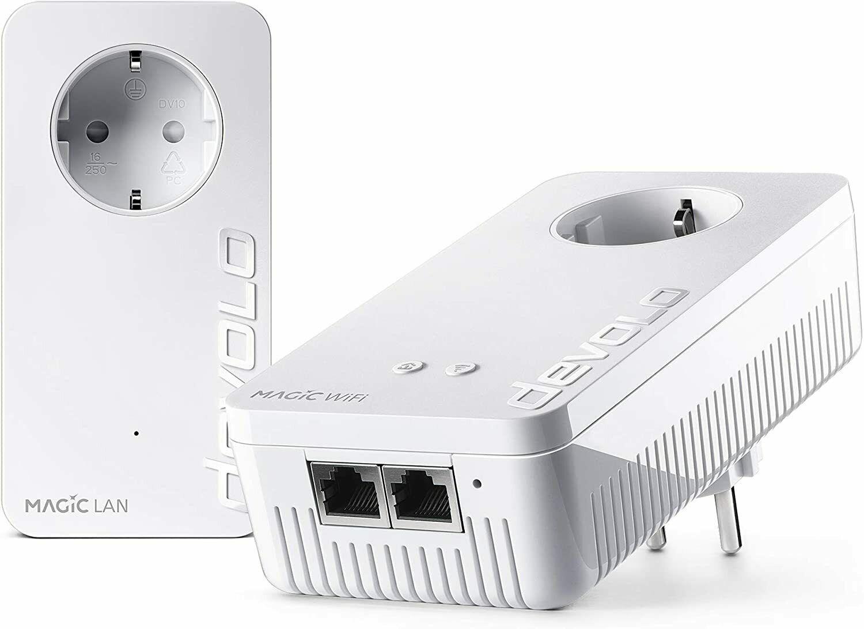 Bild zu Devolo Magic 2 WiFi AV Starter Kit 2400 Mbit/s für 149,90€ (Vergleich: 169,69€)