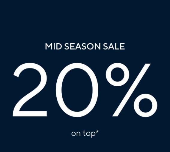 Bild zu [nur dieses Wochenende] Tom Tailor: 20% Extra-Rabatt auf ALLES (auch auf den Sale mit bis zu 40% Rabatt)