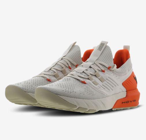 Bild zu Under Armour Project Rock Schuhe Beige/Orange (Gr.: 41 – 44,5) für 69,99€ (VG: 100€)