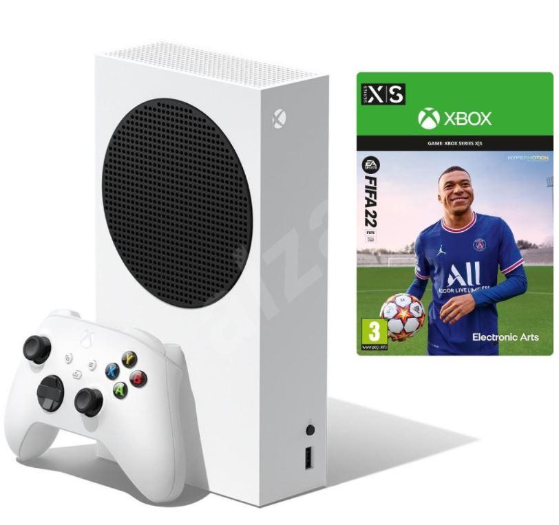 Bild zu Microsoft XBox Series S + Fifa 22 für 289,99€ (VG: 324,85€)